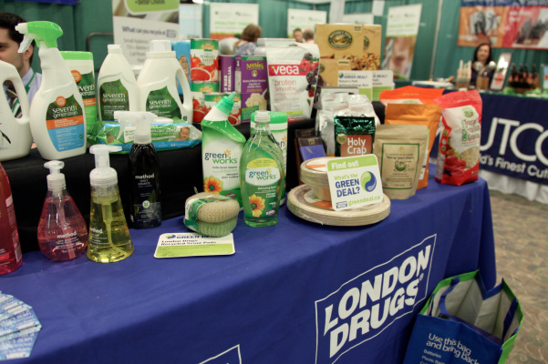 London Drugs Green Deal Display