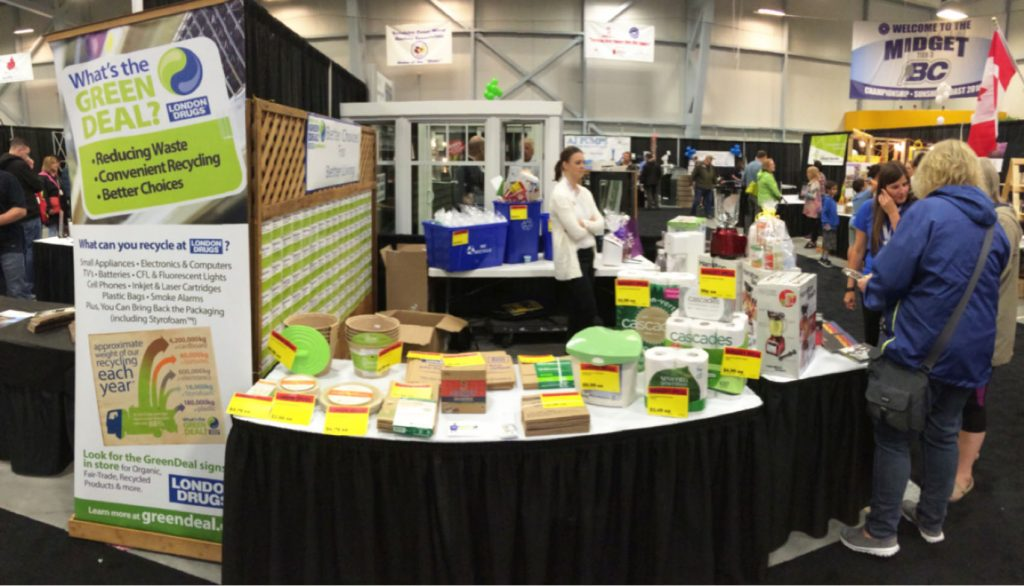 London Drugs booth at Gibsons Home and Garden Show
