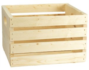 Adwood Pine Crate