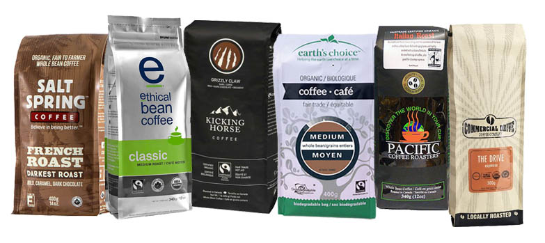 London Drugs Organic Coffee Selection