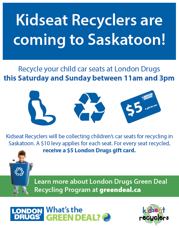 Kid Seat Recyclers Poster