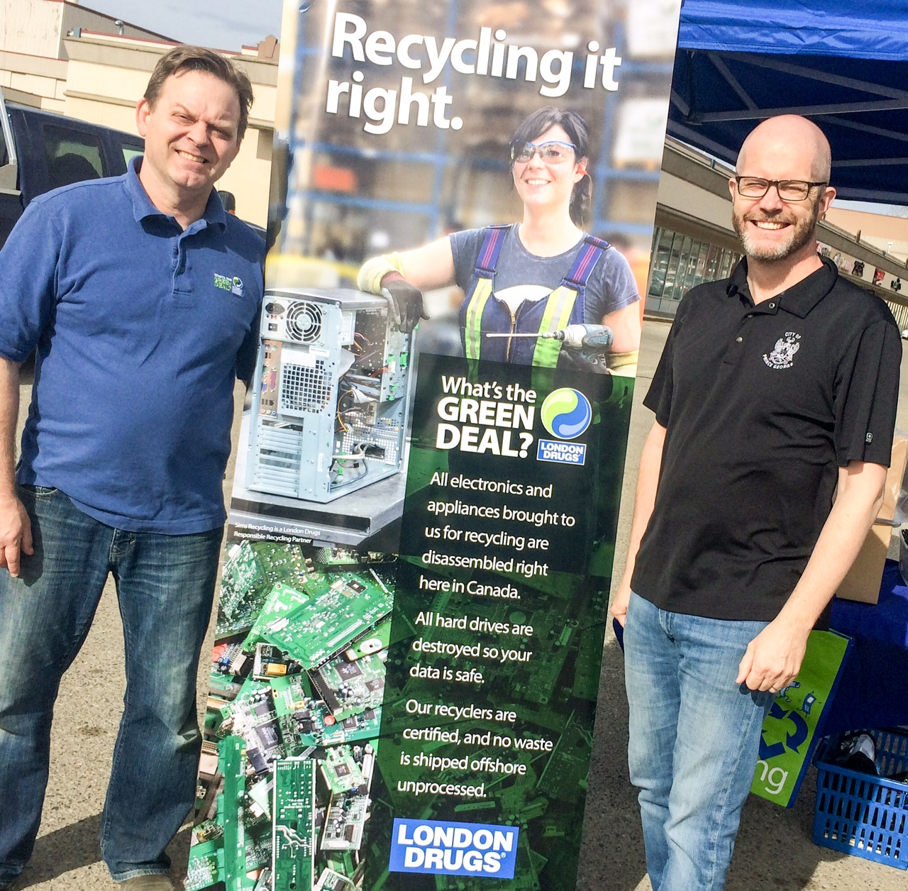 London Drugs Recycling Roundup