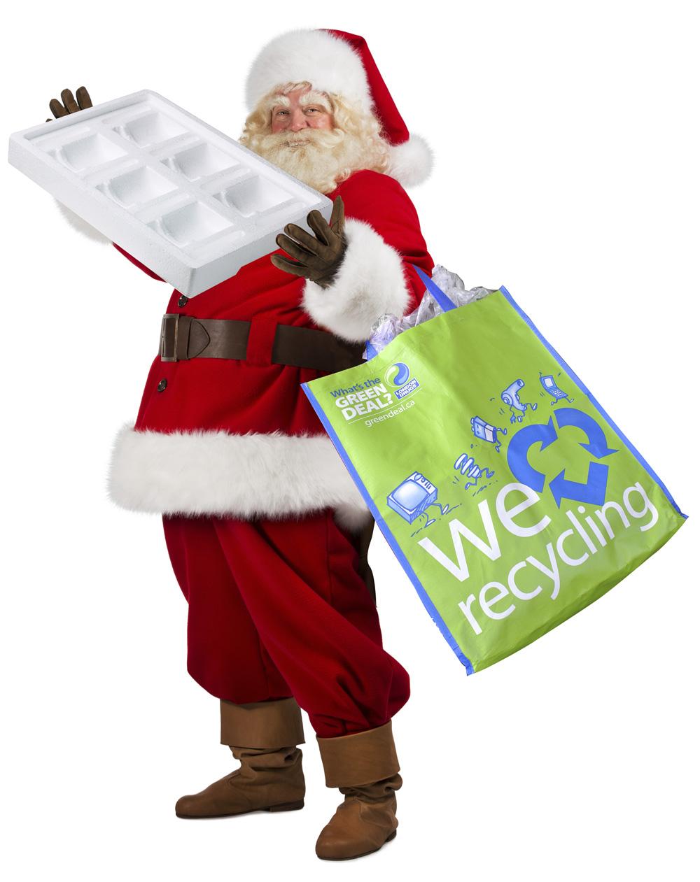 Recycling Santa