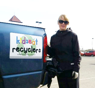 Melanie Risdon-Betcher, owner, Kidseat recyclers photo 250News
