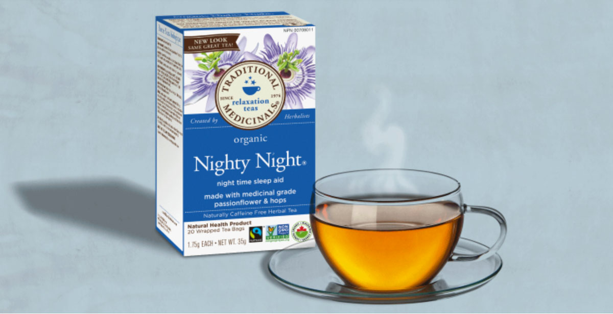 Traditional Medicinals tea natural remeby