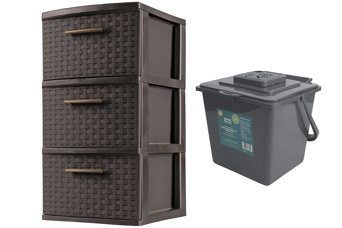 Recycling Zone Makeover bins London Drugs