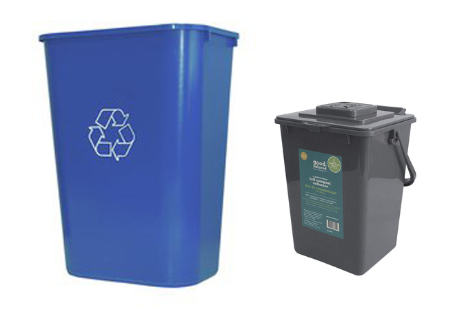 Large Recycling Bins